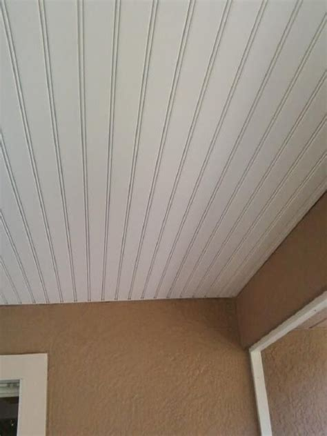 vinyl beadboard ceiling panels 25 best ideas about vinyl soffit on roof