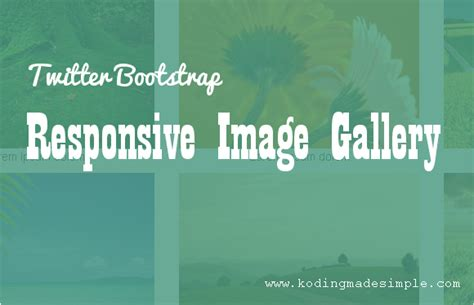 bootstrap gallery tutorial twitter bootstrap responsive image gallery tutorial with