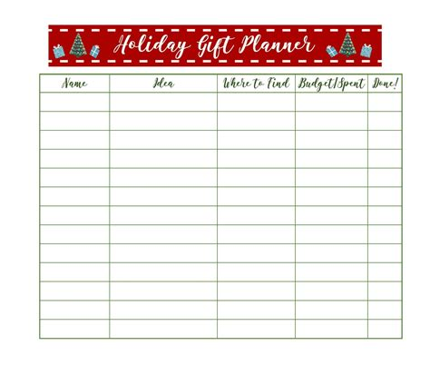 free printable gift tags from organized christmas com get organized for christmas with free printable holiday