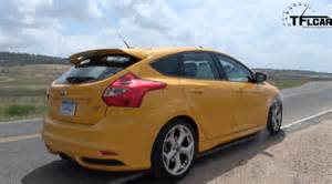 2013 Ford Focus St Review 2013 Ford Focus St 0 60 Mph Drive Review The Fast Car