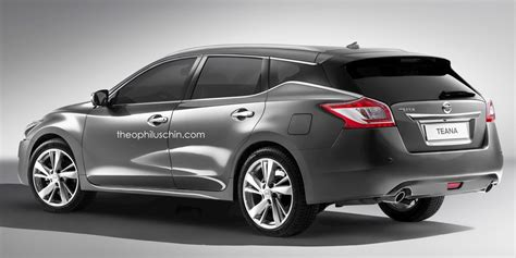 teana nissan 2015 rendered nissan teana wagon by theophilus chin
