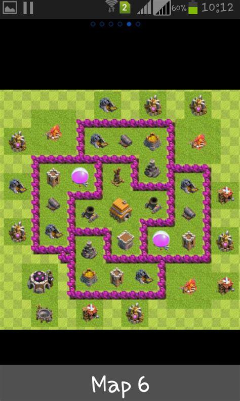 layout para centro da vila 6 centro da vila nivel 6 melhor layout clash of clans dicas