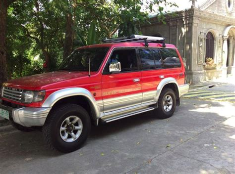 mitsubishi pajero model mitsubishi pajero 2002 model used philippines