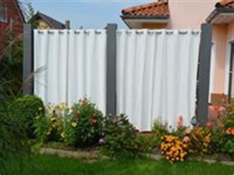 sichtschutz vorhang garten sichtschutz mit vorhang alles f 252 r haus und garten aus metall