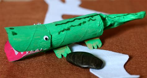 How To Make Crocodile With Paper - in the september 2011