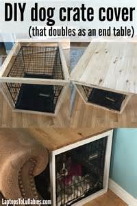Sewing A Slipcover Laptops To Lullabies Diy Dog Crate Cover