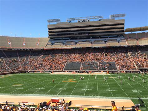 neyland stadium visitors section neyland stadium section c rateyourseats com