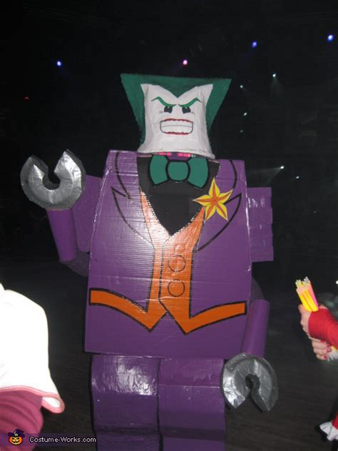 diy lego joker costume  diy costumes