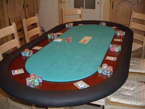 Casino Tables Table De Poker Sur Mesure Fabrication Table De Jeu