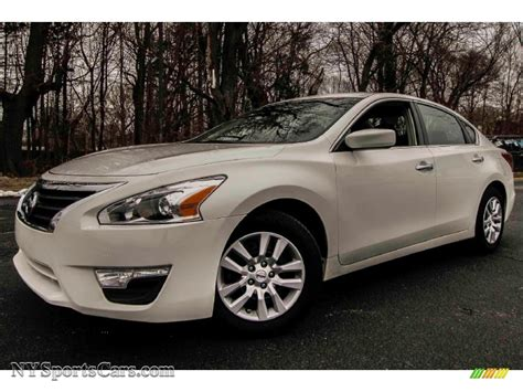 nissan white car 2013 nissan altima 2 5 s in pearl white 490728