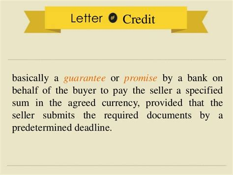 Clearance Letter Of Credit Customs Clearance Procedure For Import And Export