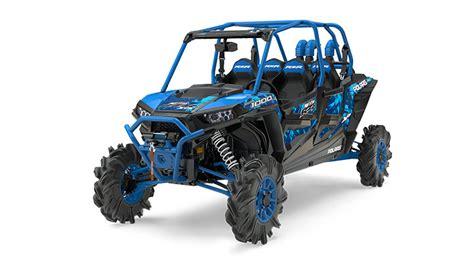 polaris ranger high lifter 4 seater 2017 rzr xp 4 1000 eps high lifter sxs blue