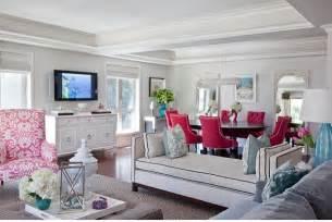 Raspberry And Grey Living Room Ideas Amanda Carol Interiors