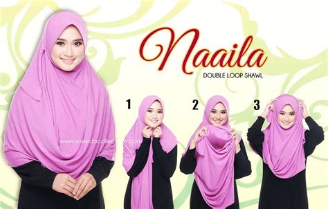 tutorial shawl xl shawl instant naaila saiz xl two loops saeeda