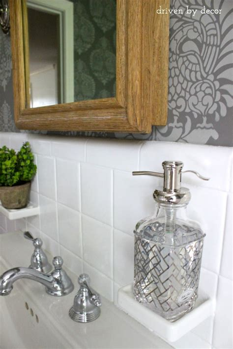 home goods bathroom decor and finally the bathroom reveal driven by decor