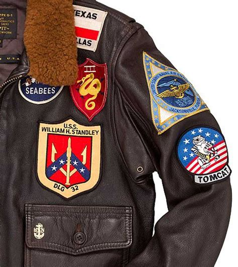 the official top gun jacket cockpit mens reproduction top gun g 1 leather flight jacket