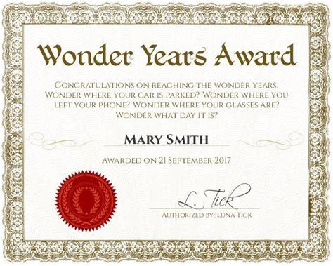 certificate template funny certificates certificate