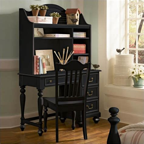 Small Black Desk With Hutch Black Desk With Hutch Compact Black Desk With Hutch