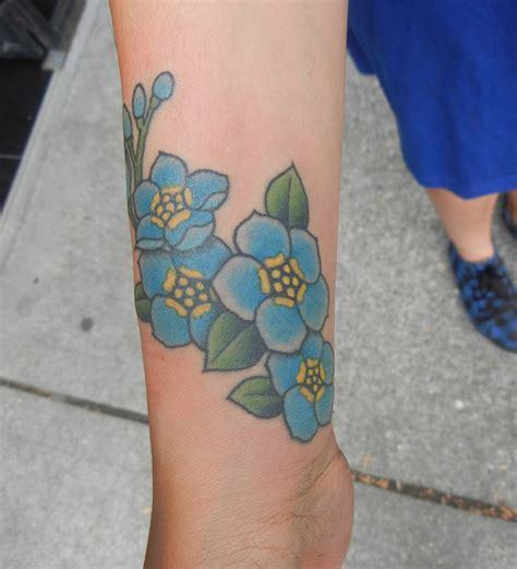 forget me not tattoos forget me not best design ideas