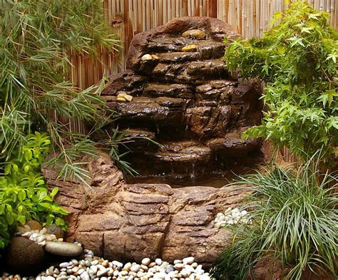 garden pond waterfall kits backyard design ideas