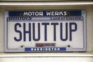 vanity license plate illinois photographic print at