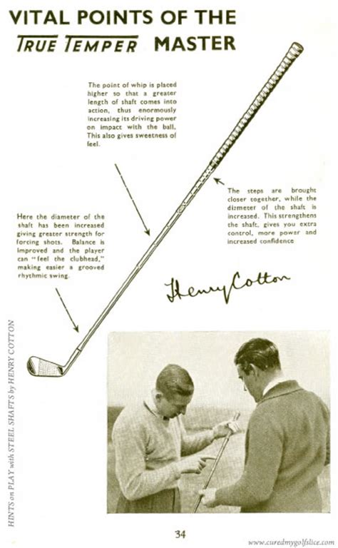 henry cotton golf swing cure a golf slice golf instruction the word swing