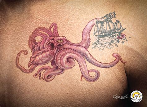 neko tattoo amp art studio spider eagle octopus adeevee