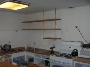 Kitchen Countertop Shelf Butcher Block Countertop Kitchen Shelving Ikea Hackers Ikea Hackers
