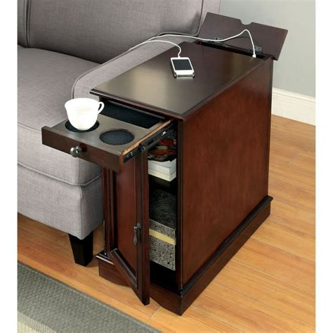 sofa side table with storage best 25 multi charging station ideas on pinterest