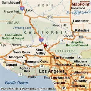 map valencia california santa clarita california