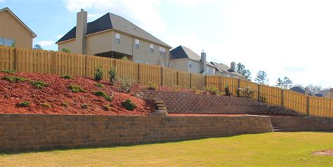 landscaping augusta ga retaining wall landscaping lawn care and retaining