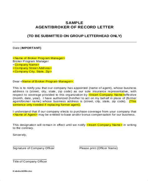appointment letter business sle appointment letter template 7 free word pdf