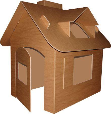 cardboard playhouse cardboard box houses cardboard