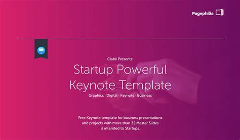 Keynote Templates To Create A Professional Presentation Startup Keynote Template