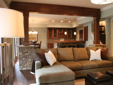 10 cool family basement designs basement design ideas hgtv