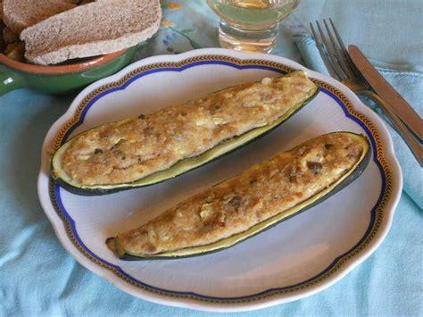tonno cucinare zucchine ripiene di tonno cucinare it