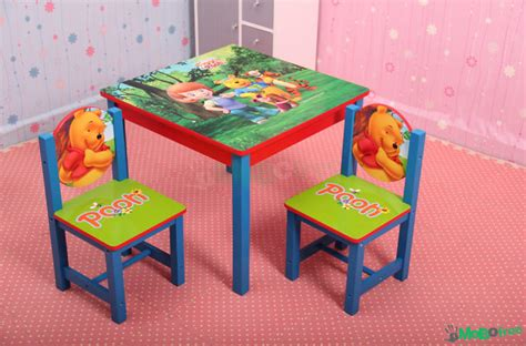 winnie the pooh table and chair set disney winnie the pooh wooden table babies and