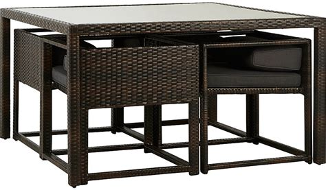 Jakarta Patio Set by Jakarta 5 Deluxe Patio Dining Set Garden Furniture