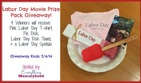 Labor Day Giveaway - giveaway labor day movie prize pack 4 winners jenns blah blah blog tips trends
