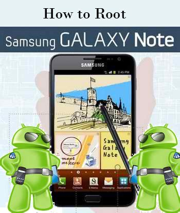tutorial flash galaxy note n7000 how to root and install custom recovery in samsung galaxy