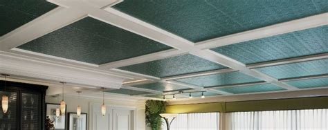 Residential Suspended Ceiling Systems Tin Look Collection Ceilings By Armstrong
