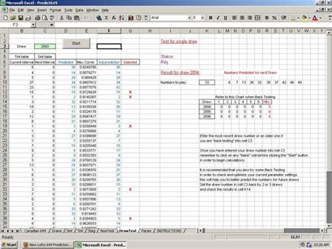 Powerball Spreadsheet by Excel For Lottery Calendar Template 2016