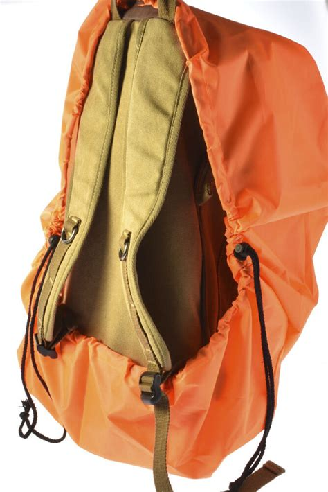 orange reflective backpack cover dust hiking cing rucksack ebay
