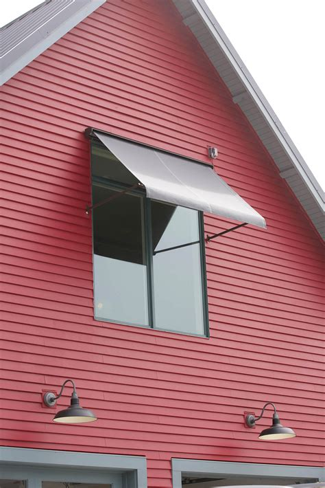 sunbrella awnings for home window awning red house with window awning made