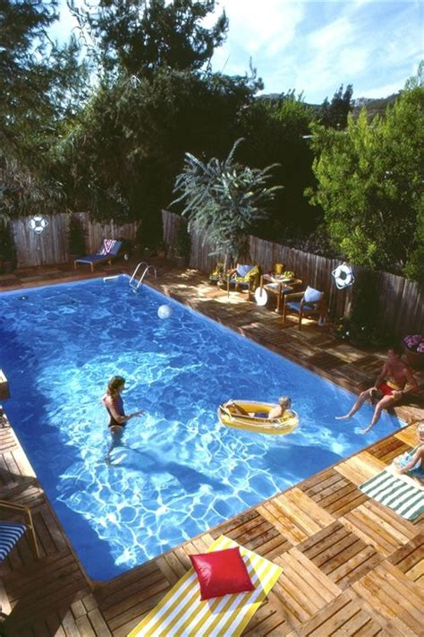 plywood pool deck   home pool decks