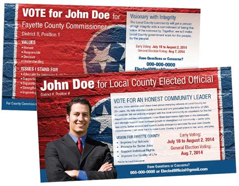 political postcard templates political mailing services mudlick mail the direct