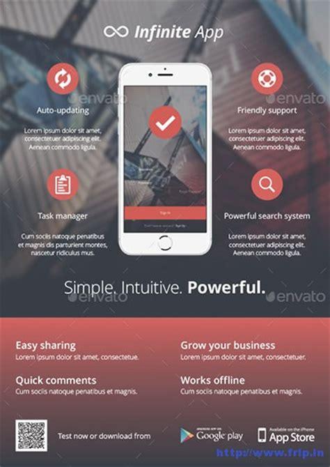 design poster app 60 best mobile app promotion flyer print templates 2017