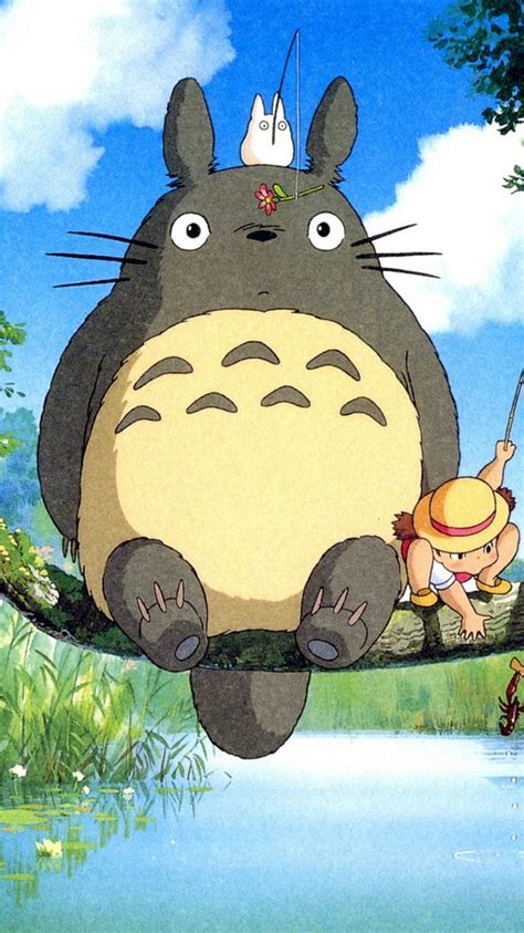My Totoro Iphone And All Hp 10 best images about totoro wallpaper hd on wallpaper anime and photos