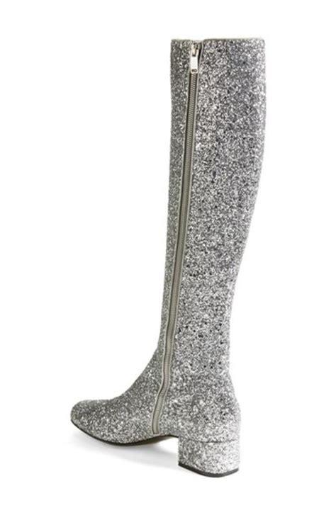 knee high glitter boot endource