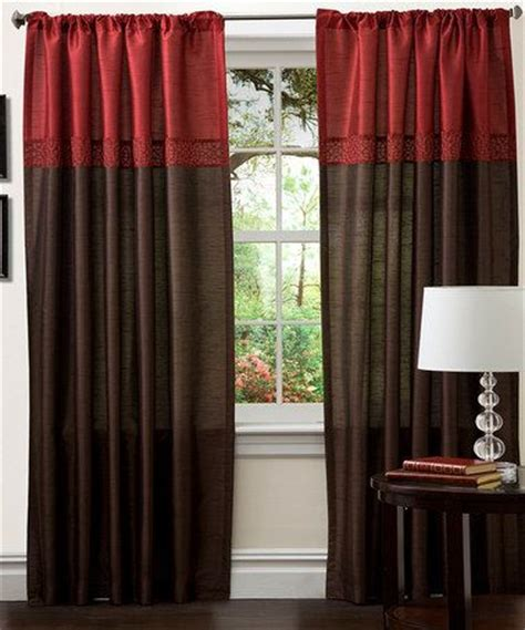 red brown curtains 1000 images about red and brown living room on pinterest